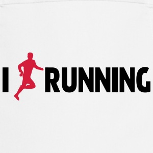 I Love Running Kookschorten - Keukenschort