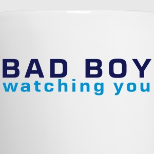 bad boy watching you Flaschen & Tassen - Tasse