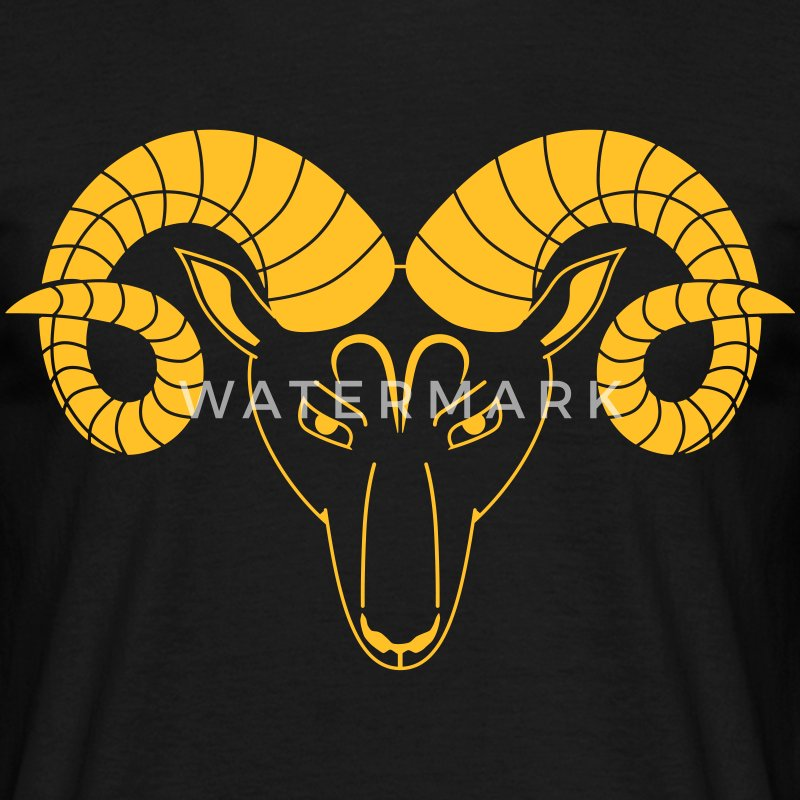 ram Signe zodiacal astrologie horoscope Tee shirts - T-shirt Homme