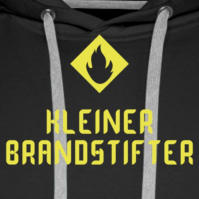 """Herren-Hoody """"Kleiner Brandstifter"""""""