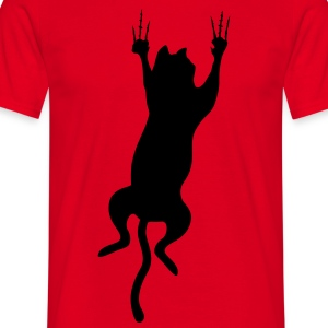 cat scratch T-Shirts - Men's T-Shirt