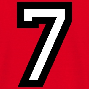 Number 7 T-Shirt - Men's T-Shirt