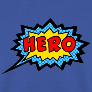 Comic, Hero, Speech Bubble, Superhero, Cartoon  - Männer Pullover