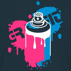 Tee shirts graffiti spreadshirt - Bombe de graffiti ...