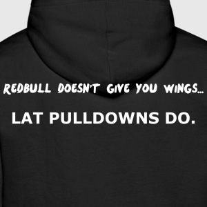 Redbull doesn't give Wing Hoodies & Sweatshirts - Men's Premium Hoodie