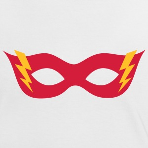 Comic, Cartoon, Hero mask, , Superhero T-Shirts - Women's Ringer T-Shirt