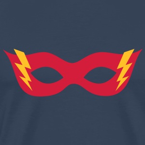 Comic, Cartoon, Hero mask, , Superhero T-shirts - Premium-T-shirt herr