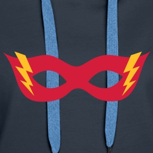Comic, Cartoon, Hero mask, , Superhero Sweat-shirts - Sweat-shirt à capuche Premium pour femmes