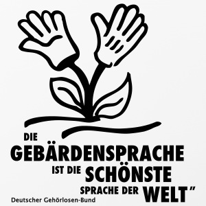 iPhone-Hülle (iPhone 4/4s) Schönste Sprache der - iPhone 4/4s Hard Case