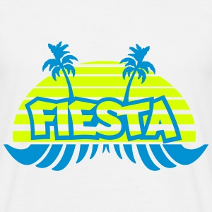 Fiesta, PARTY , Sonne - Männer T-Shirt