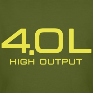 4.0 Litre High Output - Autonaut.com - Men's Organic T-shirt