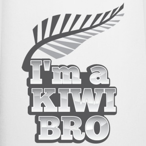 I'm a KIWI BRO with silver fern New Zealand  Aprons - Cooking Apron