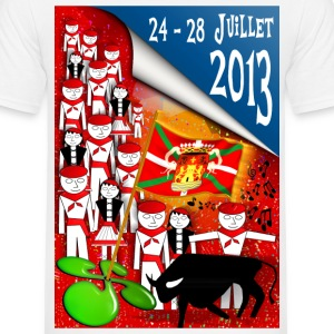 Fêtes pays basque 2013 Tee shirts - T-shirt Homme