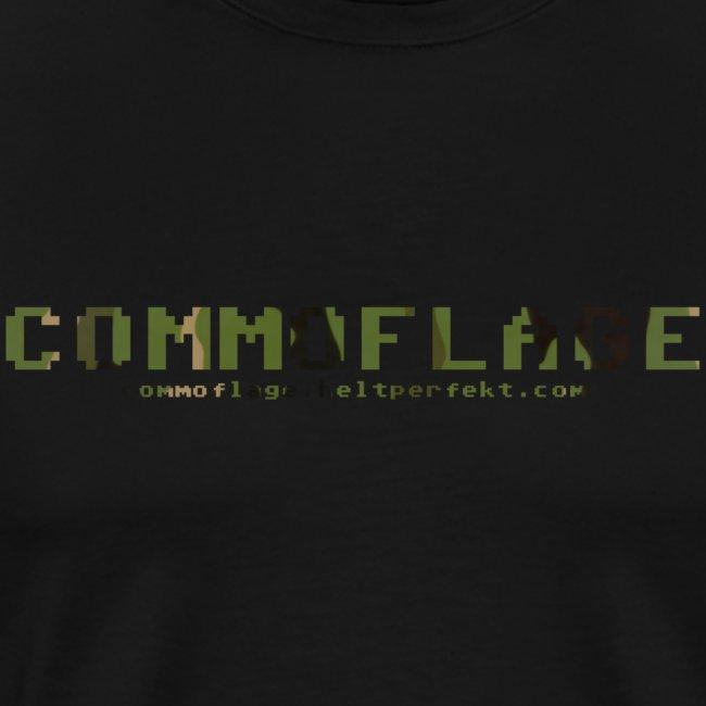 Herr t-shirt camo