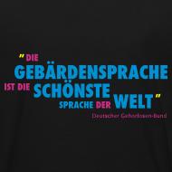 Motiv ~ Kinder Bio T-Shirt (DGS schönste Sprache)