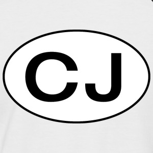 Jeep CJ Oval - Autonaut.com - Men's Baseball T-Shirt