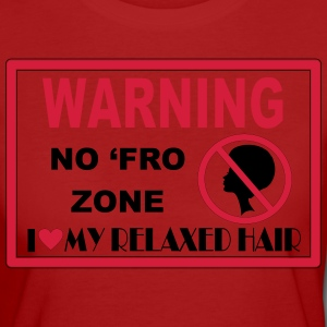 No Fro Zone T-Shirts - Women's Organic T-shirt