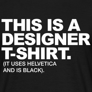 This is a designer T-shirt It uses  T-Shirts - Men's T-Shirt