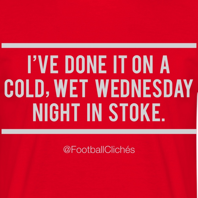 Cold, Wet, Wednesday in Stoke
