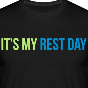rest day T-skjorter - T-skjorte for menn
