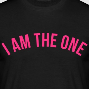 i am the one T-shirts - Herre-T-shirt