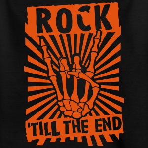 rock 'till the end Shirts - Teenager T-shirt
