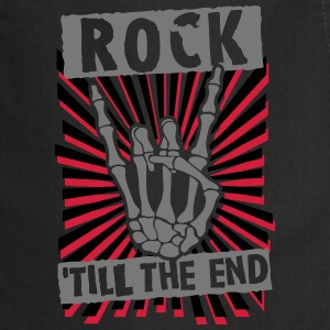 rock 'till the end  Aprons - Cooking Apron
