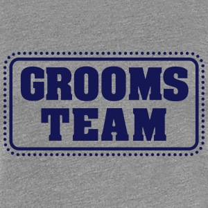 Grooms team (1c) T-Shirts - Frauen Premium T-Shirt