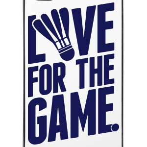 badminton - love for the game Sonstige - iPhone 4/4s Hard Case