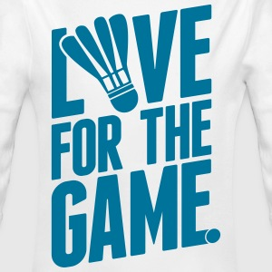 badminton - love for the game Pullover & Hoodies - Baby Bio-Langarm-Body