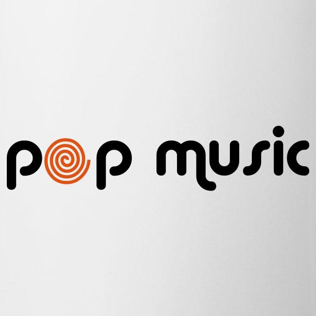 Tasse I Love Pop music 001