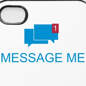 Message me / Mail me 2c Phone & Tablet Cases - iPhone 4/4s Hard Case