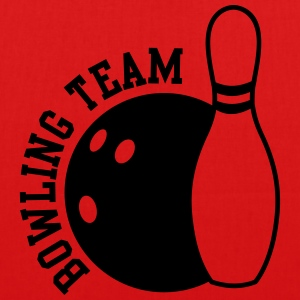 bowling team Bags & backpacks - EarthPositive Tote Bag