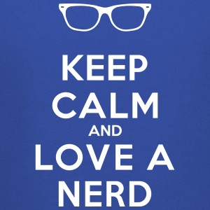 KEEP CALM AND LOVE A NERD Pullover & Hoodies - Kinder Premium Hoodie