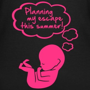 planning my escape this summer T-shirts - Vrouwen T-shirt