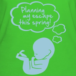 planning my escape this spring Tee shirts - T-shirt Bio Femme