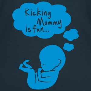 kicking mommy is fun... Tee shirts - T-shirt Femme