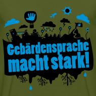 Motiv ~ GS macht stark - Bio Tshirt Männer