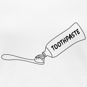 Toothpaste And Toothbrush T-shirts - Premium-T-shirt dam