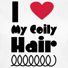 I Love My Coily Hair T-Shirts