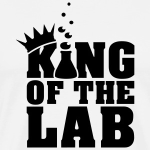 king of the lab (c, 1c) T-Shirts - Men's Premium T-Shirt