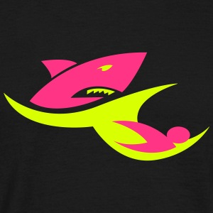 shark_wave T-Shirts - Männer T-Shirt