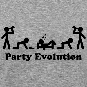 Party Evolution T-Shirts - Men's Premium T-Shirt