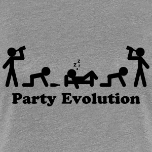 Party Evolution T-shirts - Vrouwen Premium T-shirt