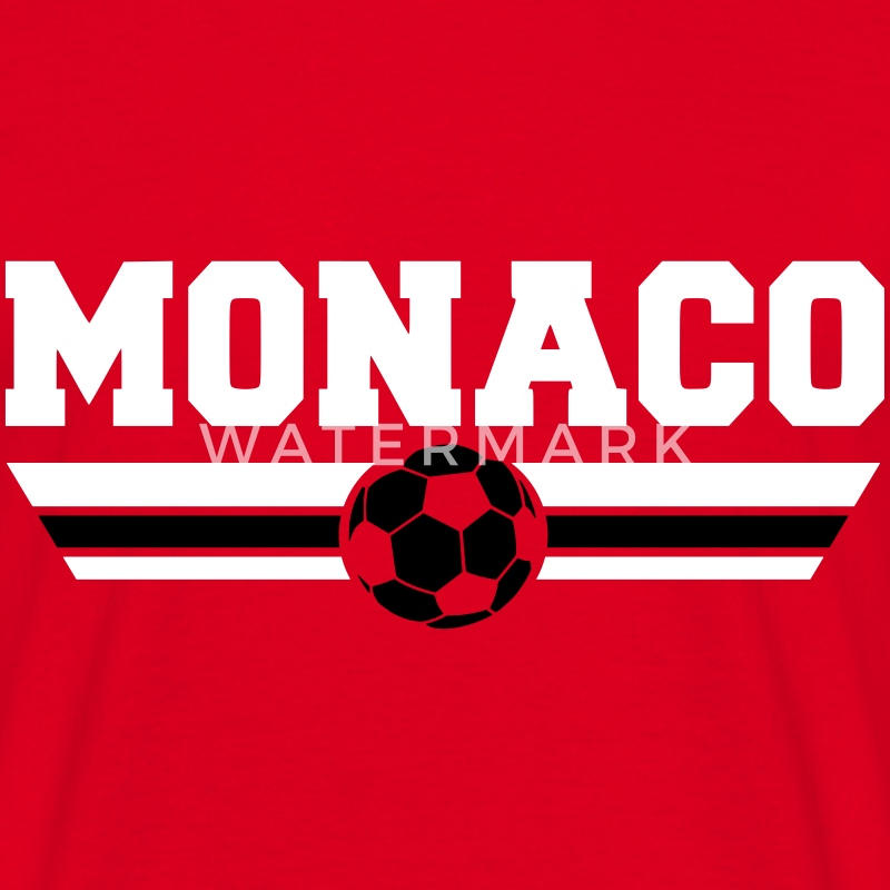 tshirt monaco football club spreadshirt