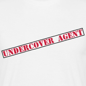 Undercover Agent  T-shirts - Herre-T-shirt