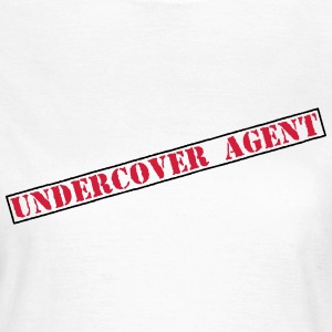 Undercover Agent / politie / detective 2c T-shirts - Vrouwen T-shirt