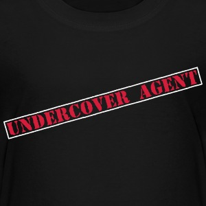 Undercover Agent  T-shirts - Teenager premium T-shirt