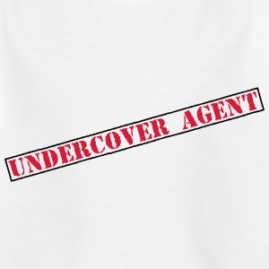 Undercover Agent  Shirts - Teenage T-shirt