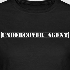 Undercover Agent / Undercover efterforskere / poli T-shirts - Dame-T-shirt